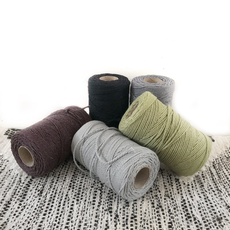"Macrame Cord 1mm ""Micro Macrame"" in a Range of Colours 100metres"