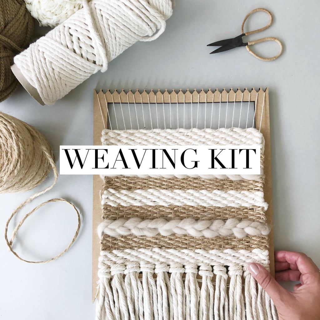 Beginners Lap Loom Weaving Kit