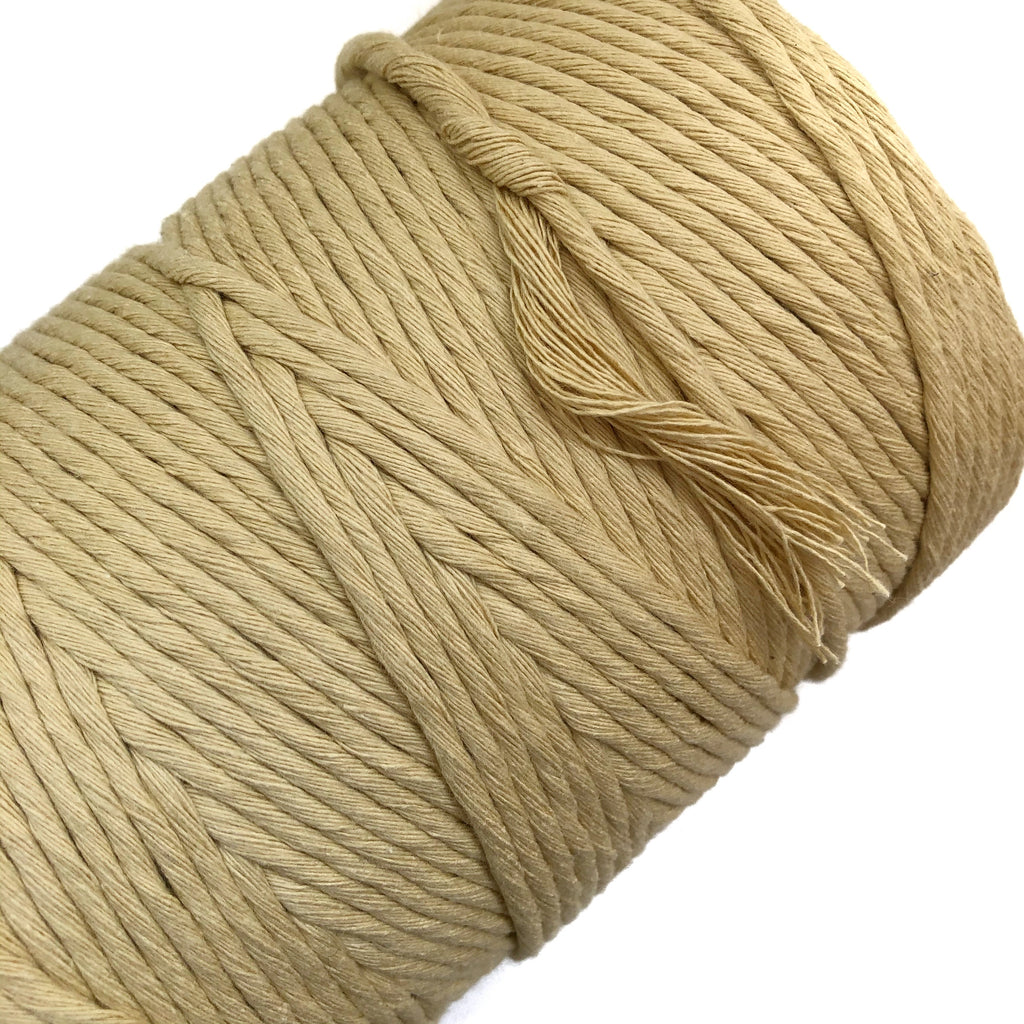 SAND Coloured Macrame Cord 4mm 1kg