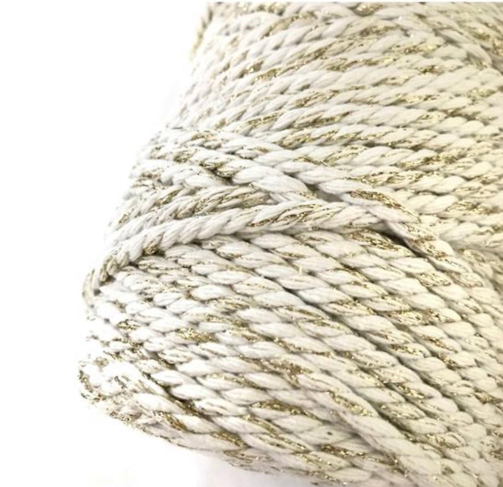 Summer Tan Macrame Cord 4mm 100m