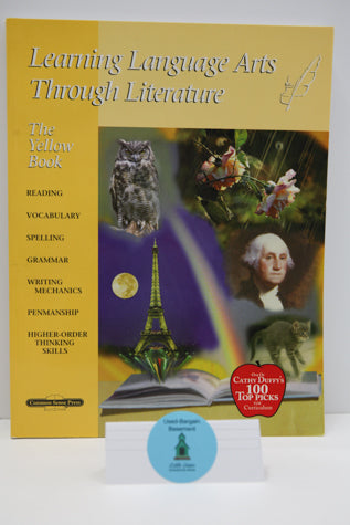 Learning Language Arts Through Literature - The Yellow Book Teacher Book (2nd Edition) (Bargain Basement) - Little Green Schoolhouse Books