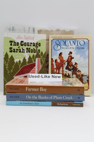Read Aloud Book Set for Adventures In U.S. History - My Father's World (Used-Like New) - Little Green Schoolhouse Books