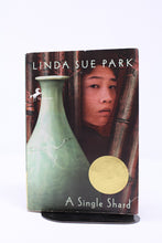 Load image into Gallery viewer, A Single Shard - Linda Sue Park (Used-Worn/Acceptable) - Little Green Schoolhouse Books