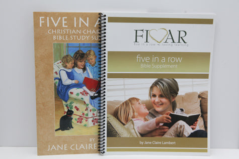 Five In A Row Christian Character and Bible Study Supplement (Used-Good) - Little Green Schoolhouse Books