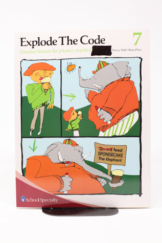 Explode the Code, Book 7 (1st edition) (Used-Like New) - Little Green Schoolhouse Books
