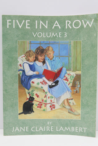 Five In A Row Volume 3 (Used-Like New) - Little Green Schoolhouse Books