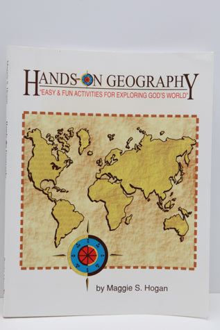 Hands-On Geography-Bright Ideas Press (Used) - Little Green Schoolhouse Books