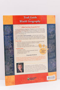Trail Guide to World Geography-  A Teacher's Manual (Used) - Little Green Schoolhouse Books