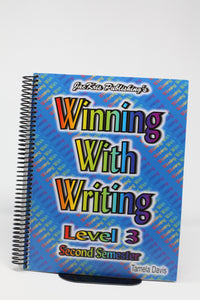 Winning With Writing Level 3- Second Semester (Used- like New) - Little Green Schoolhouse Books