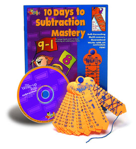 10 Days to Subraction Mastery Wrap Ups (Used - Like New) - Little Green Schoolhouse Books