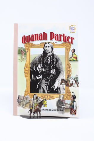 Quanah Parker (History Maker Bios) (Used-Like New) - Little Green Schoolhouse Books