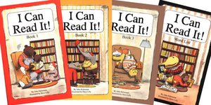 I Can Read It! Books 1, 2, 3, & Word List (Used) - Little Green Schoolhouse Books