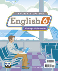 BJU Press English 6 Teacher's Edition with CD (2nd ed.) (Used - Like New) - Little Green Schoolhouse Books