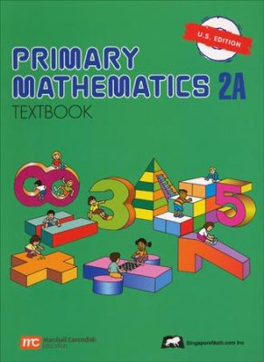 Singapore Math: Primary Math Textbook 2A US Edition (Used-Worn/Acceptable) - Little Green Schoolhouse Books