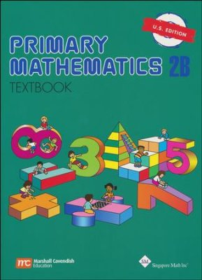 Singapore Math: Primary Math Textbook 2B US Edition (Used-Good) - Little Green Schoolhouse Books
