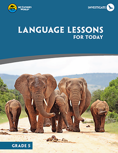 Language Lessons For Today, Grade 5 (Used-Like New) - Little Green Schoolhouse Books