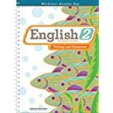 English 2 Worktext Answer Key 2nd Edition (Paperback) (Used-Good) - Little Green Schoolhouse Books
