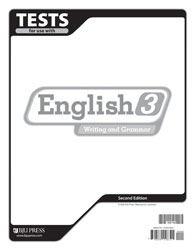 English 3 Tests and Answer Key(2nd Edition) (Used-Good) - Little Green Schoolhouse Books