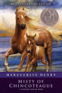 Misty of Chincoteague by Marguerite Henry (Used) - Little Green Schoolhouse Books