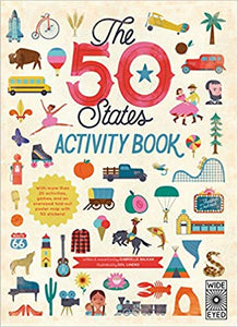 The 50 States Activity Book by Balkan/Linero (used) - Little Green Schoolhouse Books