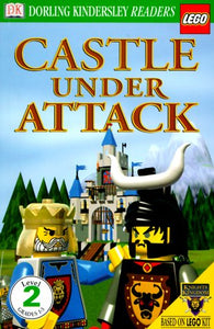 Castle Under Attack - DK Reader Level 2 Lego (Used-Worn/Acceptable) - Little Green Schoolhouse Books
