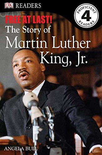 Free at Last - The Story of Martin Luther King Jr. - DK Reader Level 4 (Used) - Little Green Schoolhouse Books