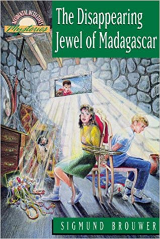 The Disappearing Jewel of Madagascar (Accidental Detectives, Book 4) - Brouwer (Used) - Little Green Schoolhouse Books