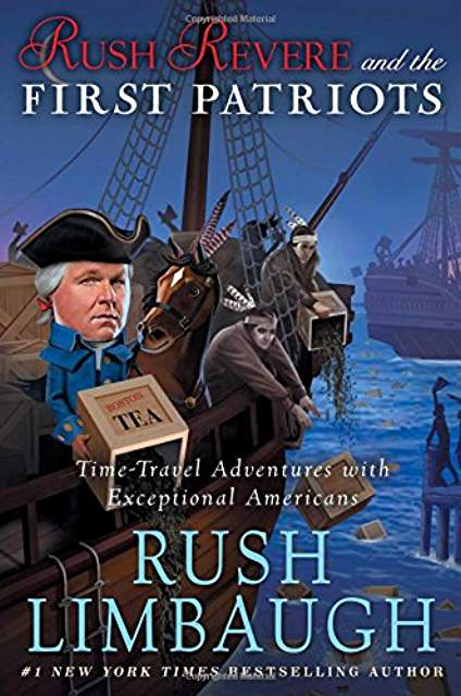 Rush Revere and the First Patriots By Rush Limbaugh - Audio Book (Like New) - Little Green Schoolhouse Books
