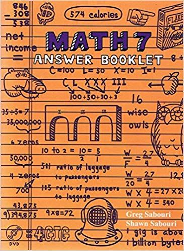 Teaching Textbooks Math 7 Answer Booklet 2.0 (Used - Like New) - Little Green Schoolhouse Books
