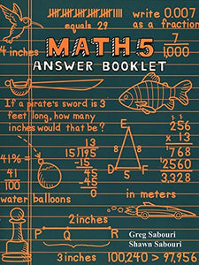 Teaching Textbooks Math 5 Answer Booklet 2.0 (Used - Like New) - Little Green Schoolhouse Books