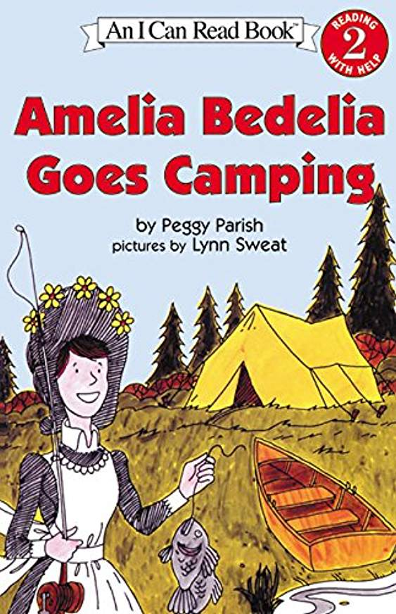 Amelia Bedelia Goes Camping by Peggy Parish (Used-worn/acceptable) - Little Green Schoolhouse Books