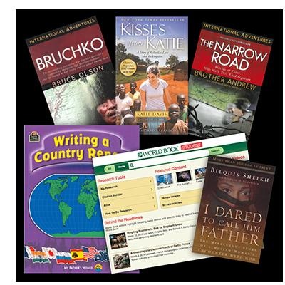 7th - 8th Grade Supplement for Exploring Countries and Cultures- My Father's World (used) - Little Green Schoolhouse Books