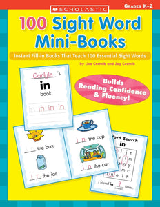 100 Sight Word Mini-Books (Used-Like New) - Little Green Schoolhouse Books