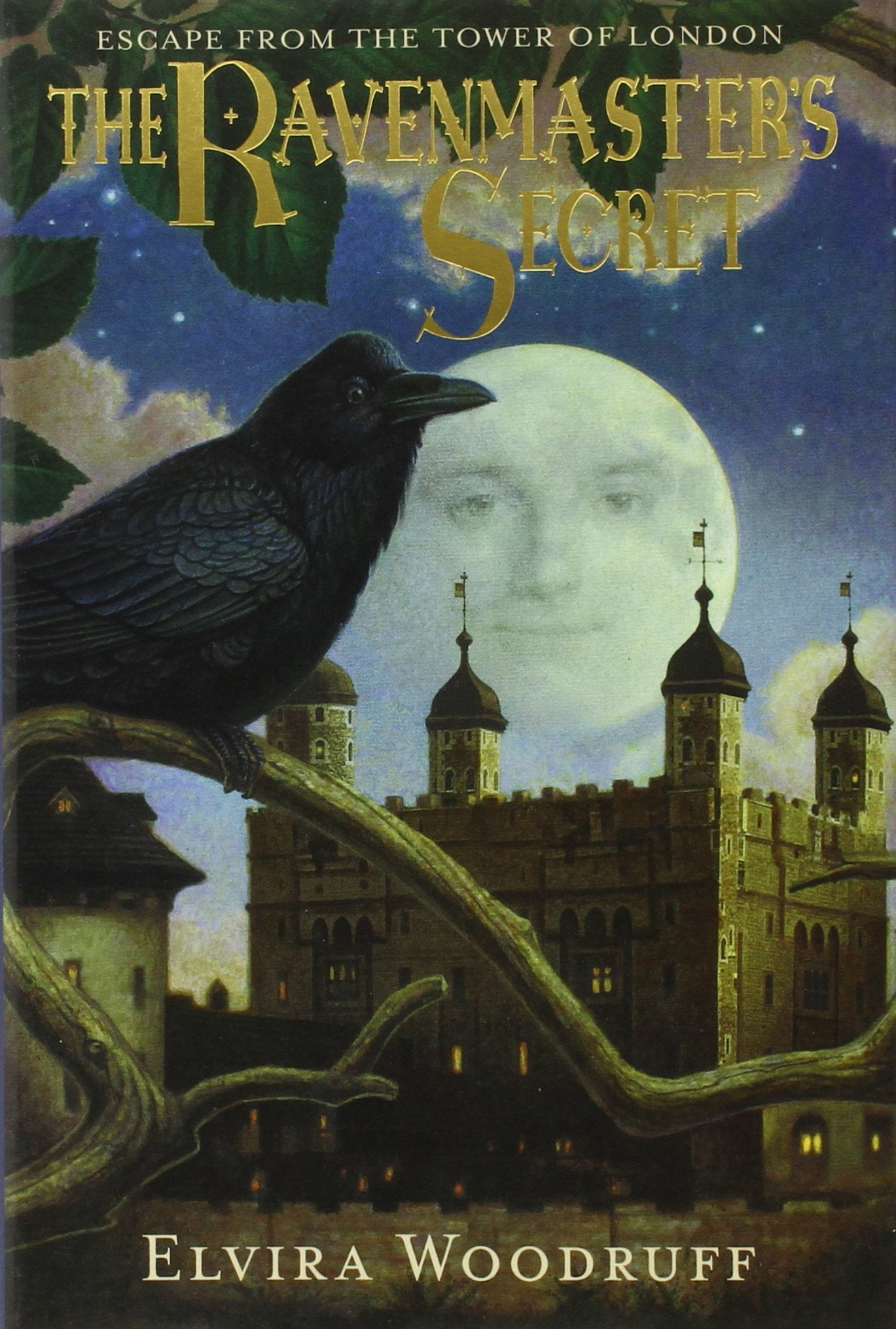 The Ravenmaster's Secret - by Elvira Woodruff (Used - Like New) - Little Green Schoolhouse Books