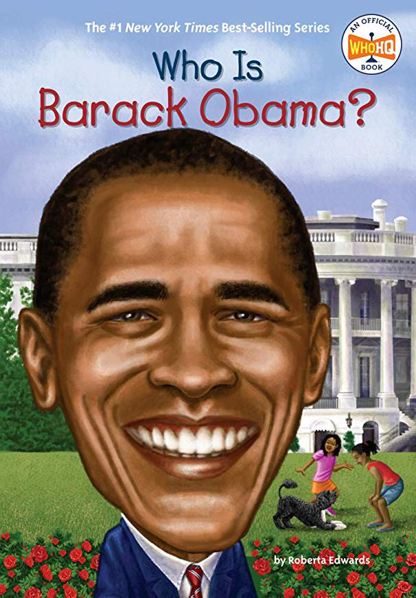 Who is Barack Obama By Roberta Edwards (New) - Little Green Schoolhouse Books
