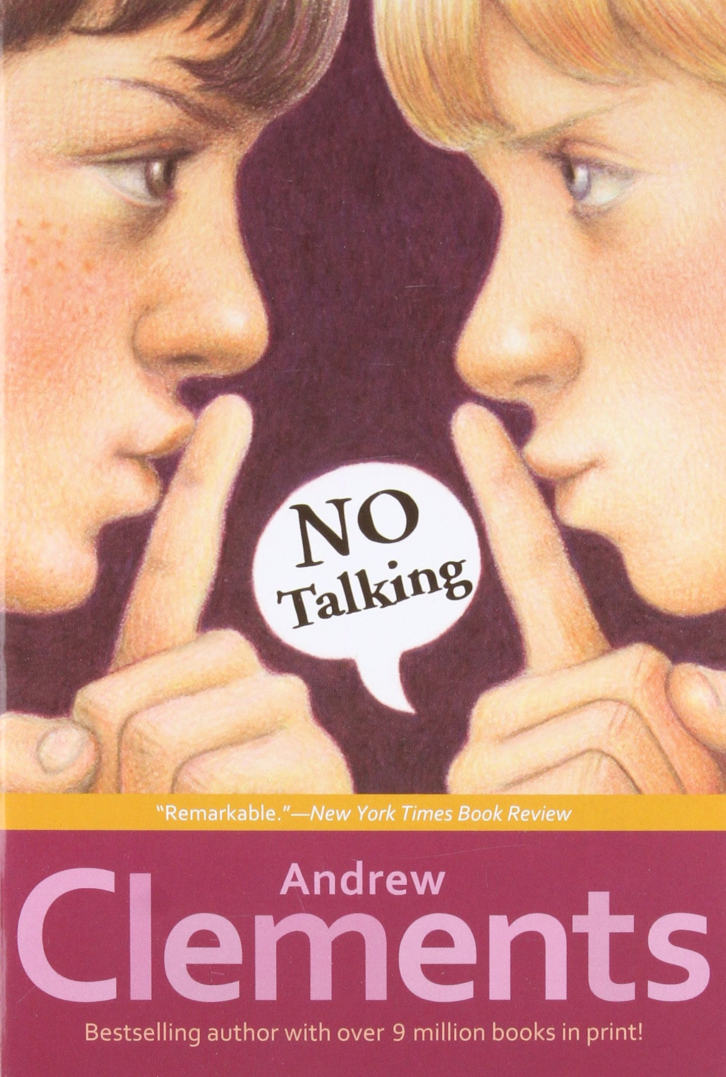 No Talking - Andrew Clements (Used) - Little Green Schoolhouse Books
