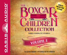 Load image into Gallery viewer, The Boxcar Children Collection Audio CD: Volume 2 (New) - Little Green Schoolhouse Books