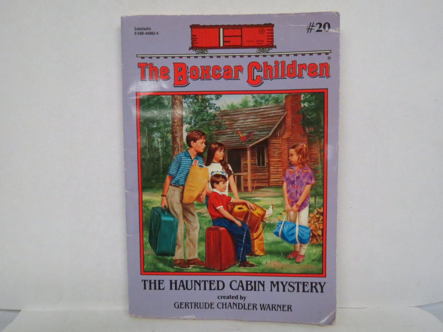 The Haunted Cabin Mystery (The Boxcar Children book 20) (Used) - Little Green Schoolhouse Books