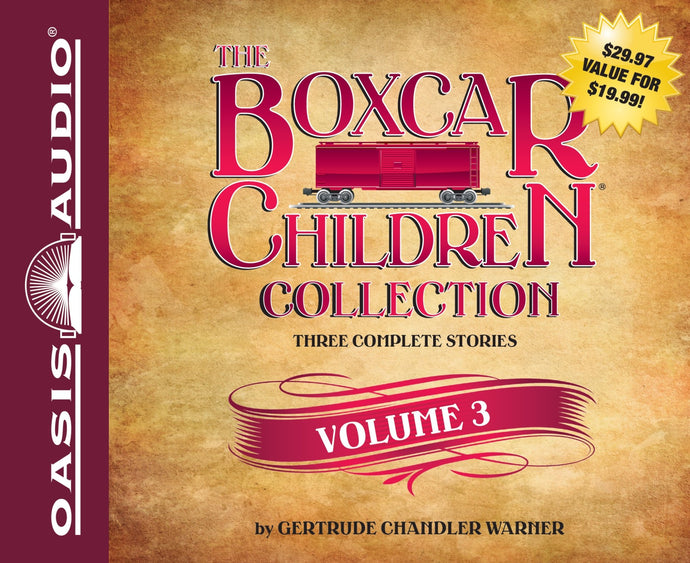 The Boxcar Children Audio CD Collection: Volume 3 (New) - Little Green Schoolhouse Books