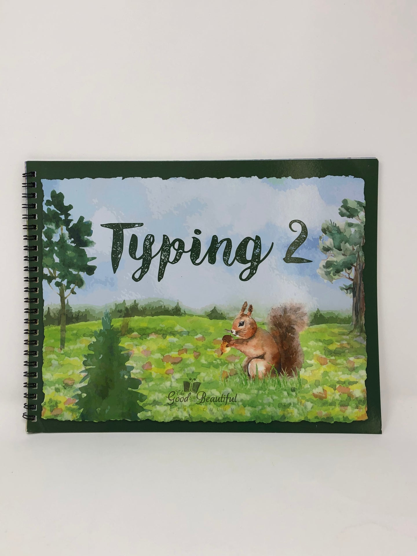 Typing 2-The Good and the Beautiful (New) - Little Green Schoolhouse Books