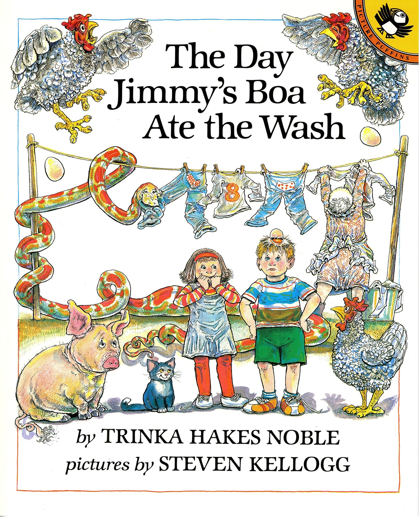 The Day Jimmy's Boa Ate the Wash (Used) - Little Green Schoolhouse Books