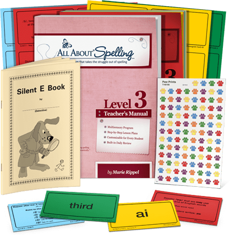 All About Spelling Level 3 (New) - Little Green Schoolhouse Books