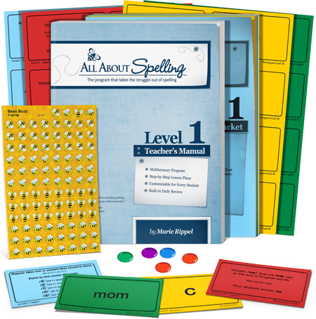 All About Spelling Level 1 (Used-Good) - Little Green Schoolhouse Books