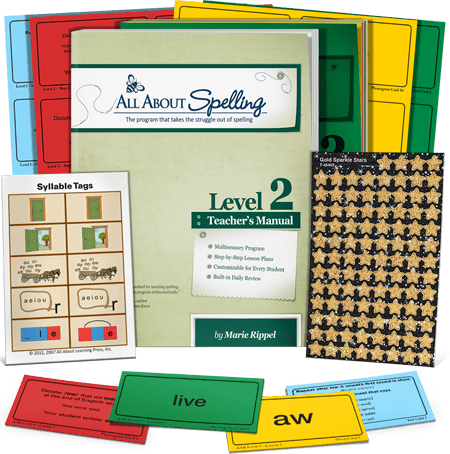 All About Spelling Level 2 (Used-Like New) - Little Green Schoolhouse Books