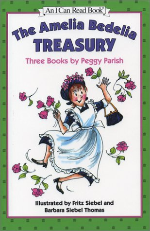 The Amelia Bedelia Treasury by Peggy Parish (Used) - Little Green Schoolhouse Books