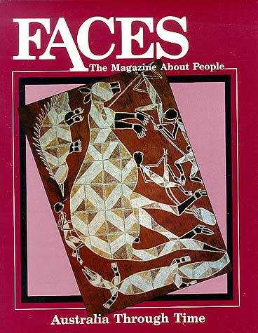 Faces: Australia Through Time (Used-Good) - Little Green Schoolhouse Books