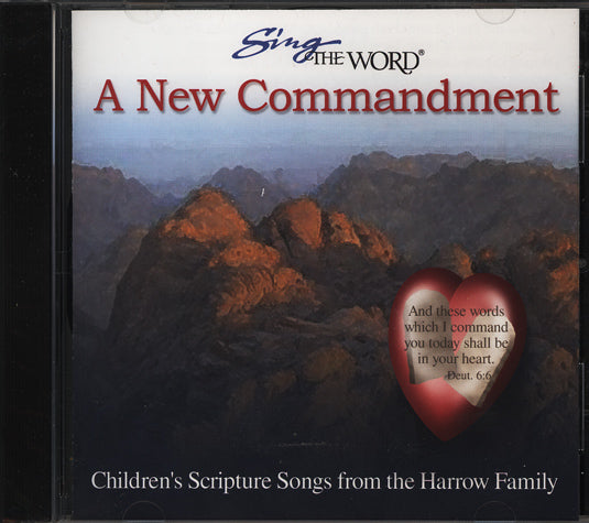Sing the Word A New Commandment (Used) - Little Green Schoolhouse Books
