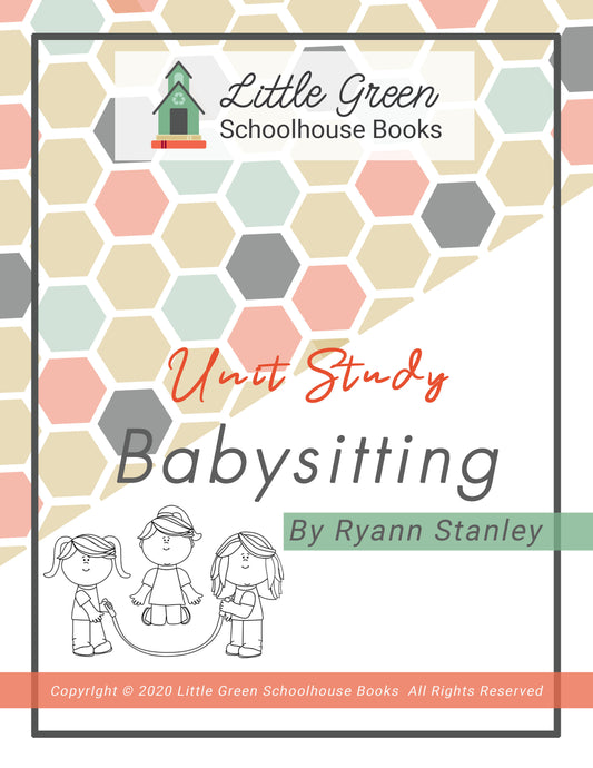 Babysitting Course Digital PDF Download - Little Green Schoolhouse Books