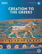 Creation to the Greeks Teacher's Manual (2nd Edition)-My Father's World - (Used) - Little Green Schoolhouse Books