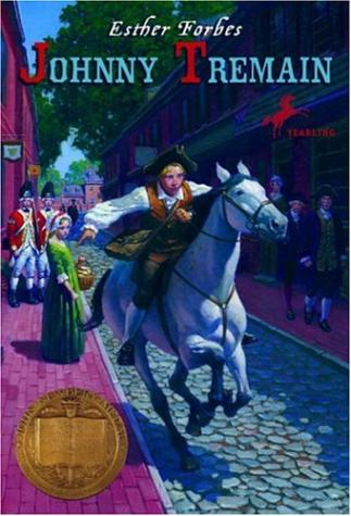Johnny Tremain by Esther Forbes (used) - Little Green Schoolhouse Books